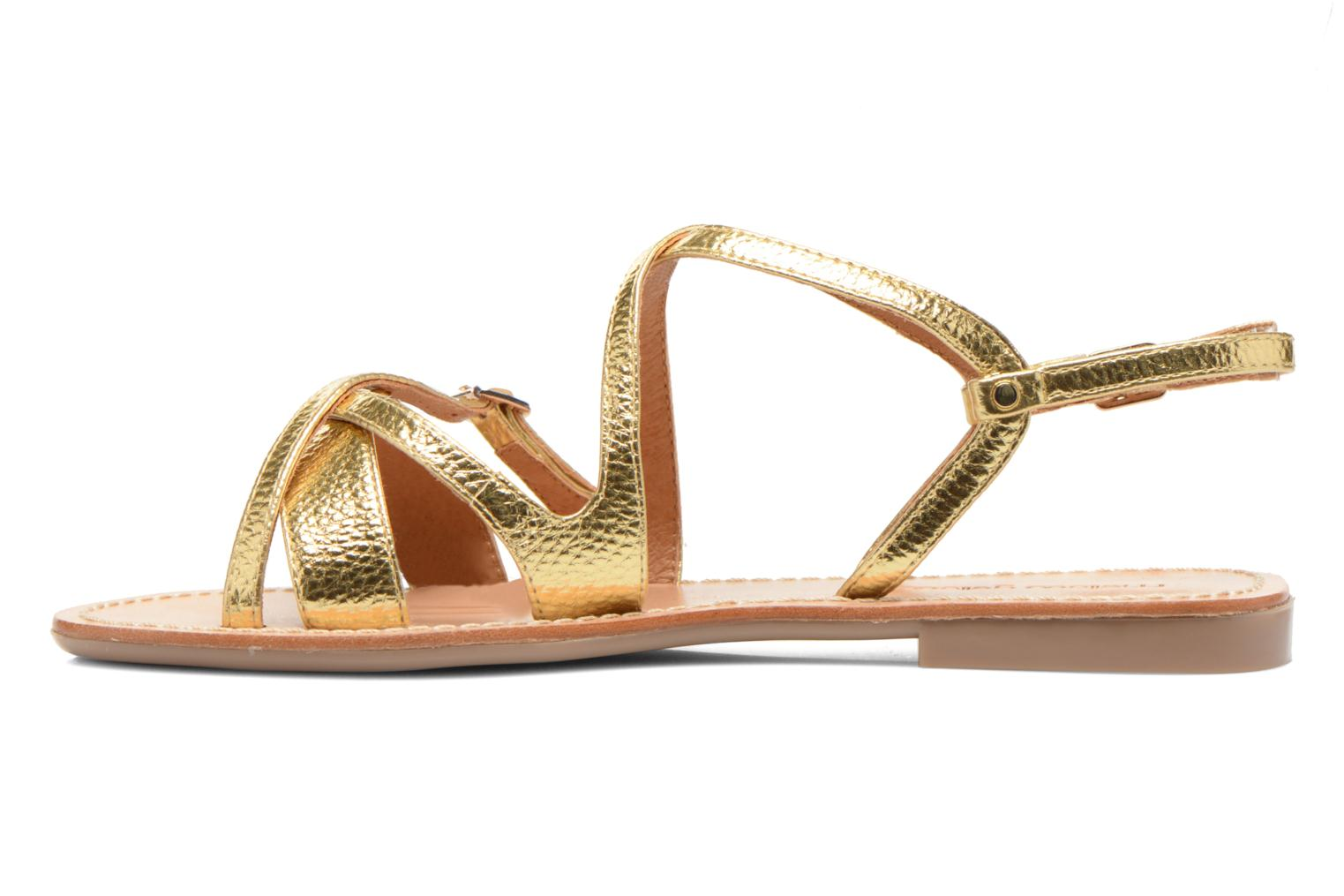 Sandals Mellow Yellow Vanille Bronze and Gold front view