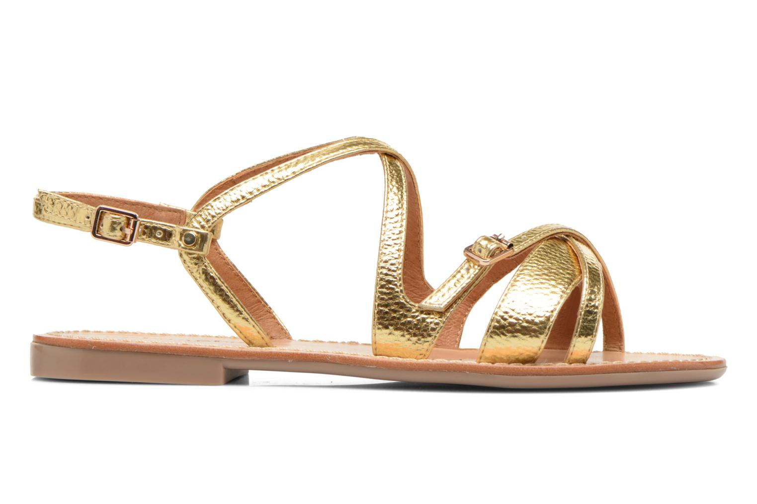 Sandals Mellow Yellow Vanille Bronze and Gold back view