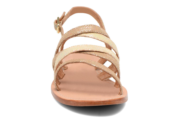 Sandales et nu-pieds Mellow Yellow Valoma Beige vue portées chaussures