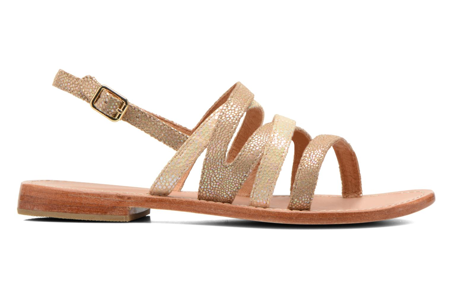 Sandals Mellow Yellow Valoma Beige back view