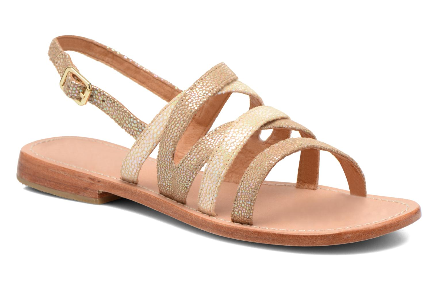 Sandals Mellow Yellow Valoma Beige detailed view/ Pair view