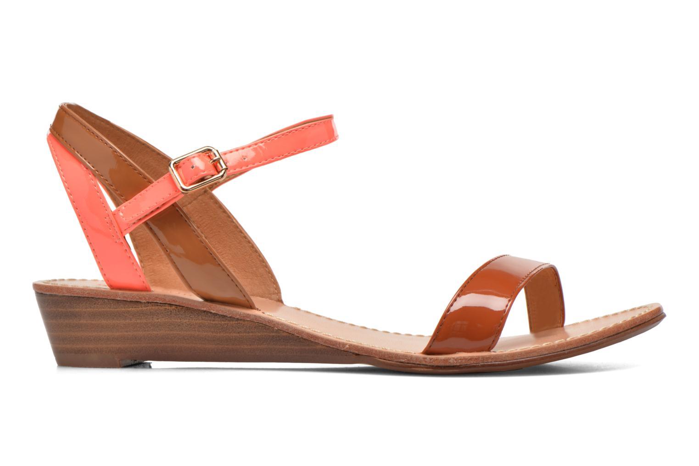 Sandales et nu-pieds Mellow Yellow Valentin Orange vue derrière