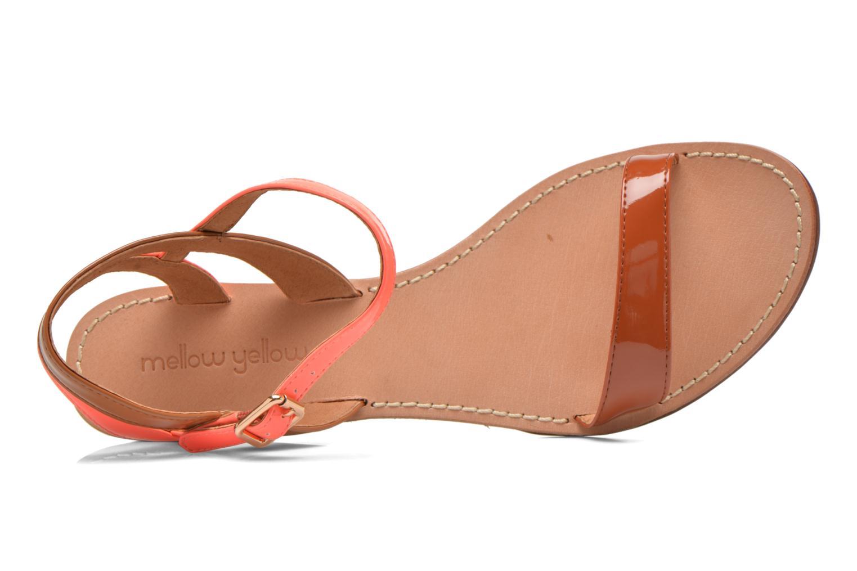 Sandales et nu-pieds Mellow Yellow Valentin Orange vue gauche