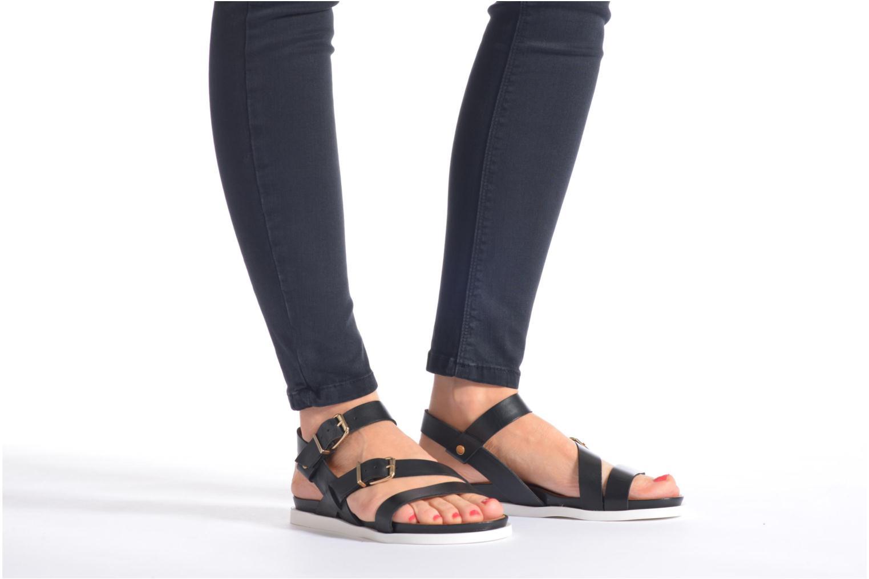 Sandales et nu-pieds Mellow Yellow Vindia Or et bronze vue bas / vue portée sac