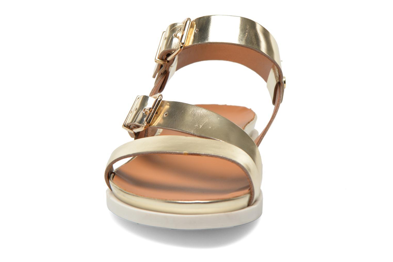 Sandales et nu-pieds Mellow Yellow Vindia Or et bronze vue portées chaussures