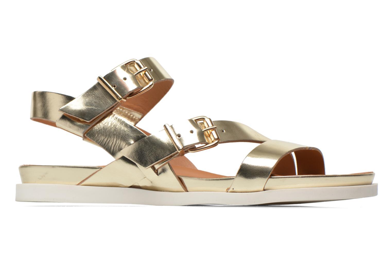 Sandales et nu-pieds Mellow Yellow Vindia Or et bronze vue derrière