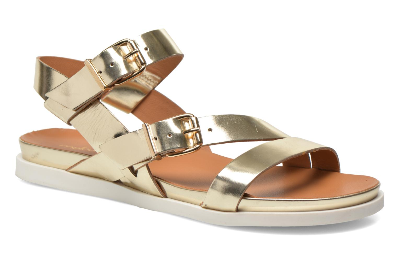 Sandales et nu-pieds Mellow Yellow Vindia Or et bronze vue détail/paire