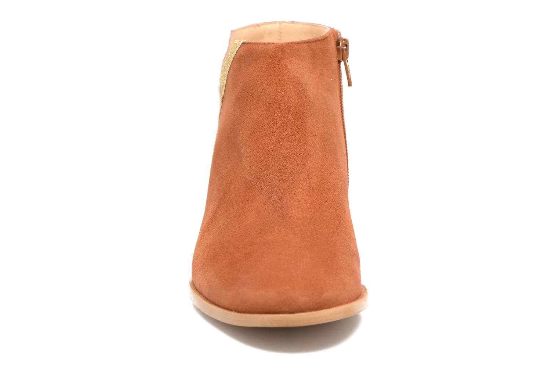Bottines et boots Mellow Yellow Veliska Marron vue portées chaussures
