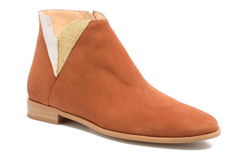 Bottines et boots Mellow Yellow Veliska Marron vue détail/paire