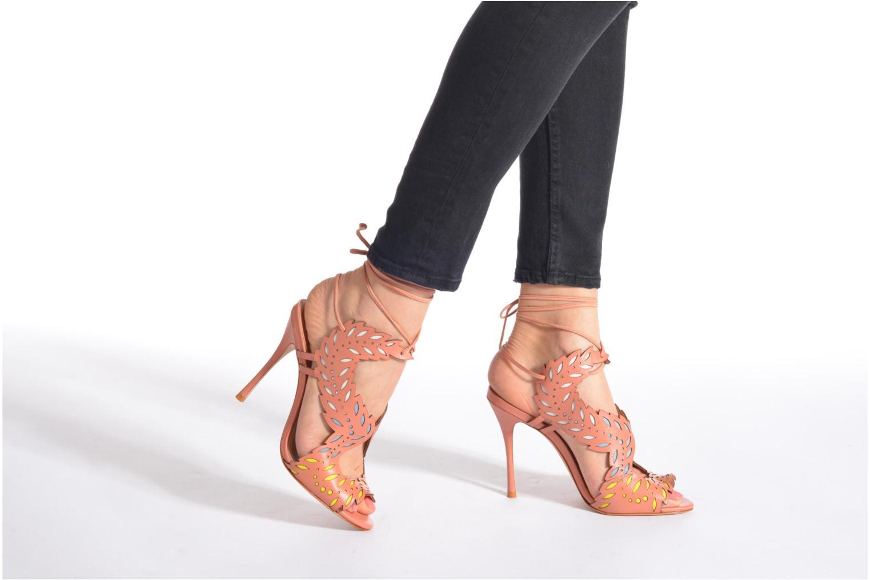 Sandales et nu-pieds COSMOPARIS Alanne Rose vue bas / vue portée sac