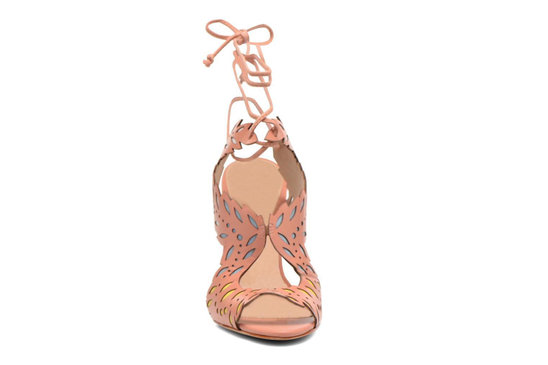 Sandales et nu-pieds COSMOPARIS Alanne Rose vue portées chaussures