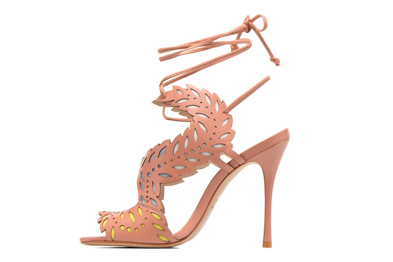 Sandales et nu-pieds COSMOPARIS Alanne Rose vue face