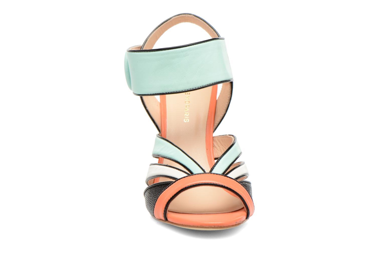 Sandales et nu-pieds COSMOPARIS Adiana Multicolore vue portées chaussures
