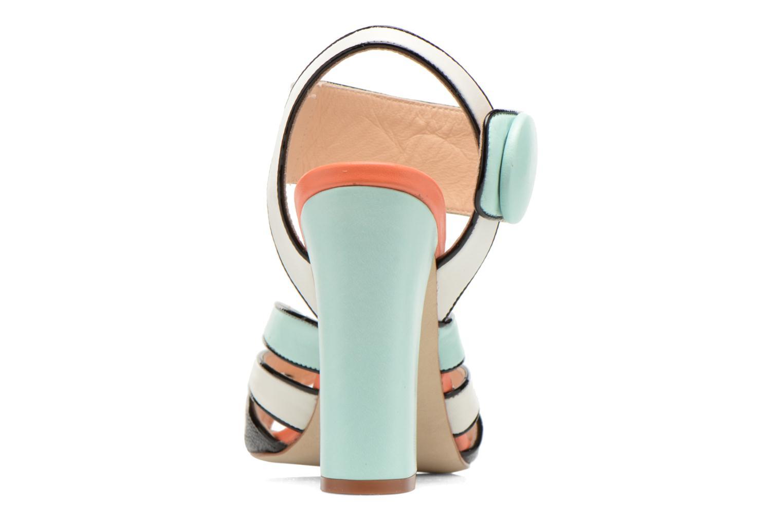 Sandales et nu-pieds COSMOPARIS Adiana Multicolore vue droite
