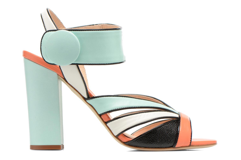 Sandales et nu-pieds COSMOPARIS Adiana Multicolore vue derrière