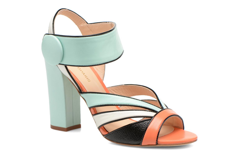 Sandales et nu-pieds COSMOPARIS Adiana Multicolore vue détail/paire