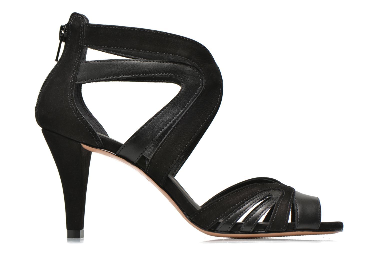 Sandales et nu-pieds COSMOPARIS Jamil Noir vue derrière