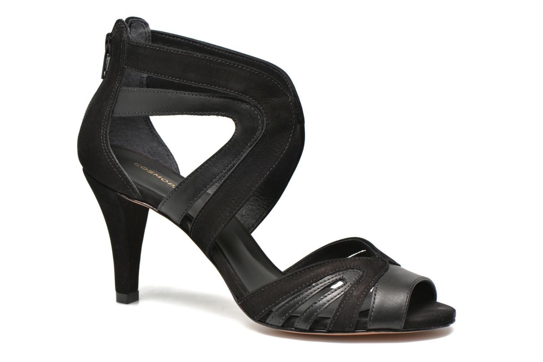 Sandales et nu-pieds COSMOPARIS Jamil Noir vue détail/paire