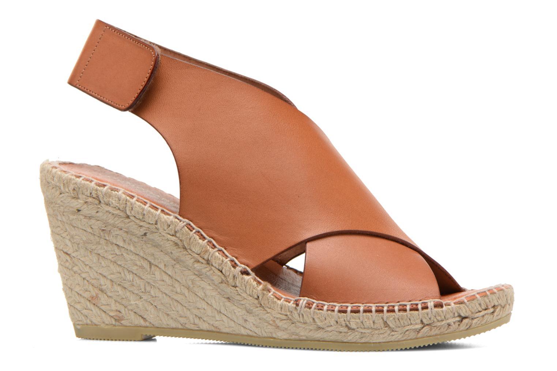 Sandals COSMOPARIS Ipia Brown back view