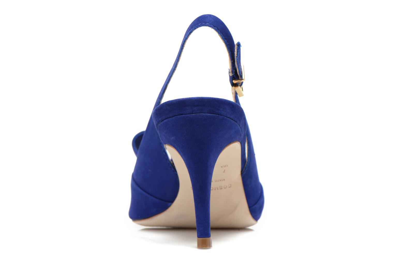 Sandales et nu-pieds COSMOPARIS Solale Bleu vue droite