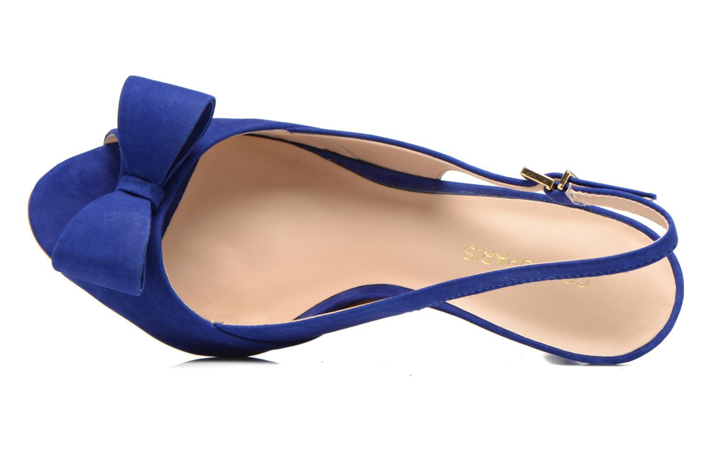 Sandales et nu-pieds COSMOPARIS Solale Bleu vue gauche