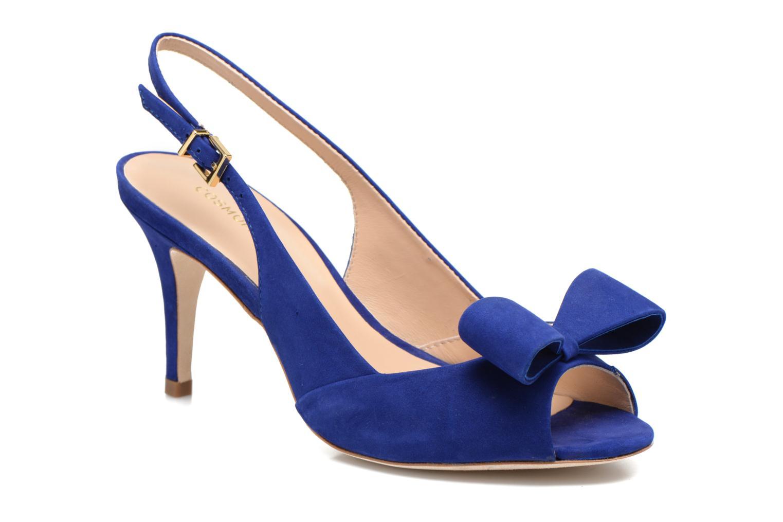 Sandals COSMOPARIS Solale Blue detailed view/ Pair view
