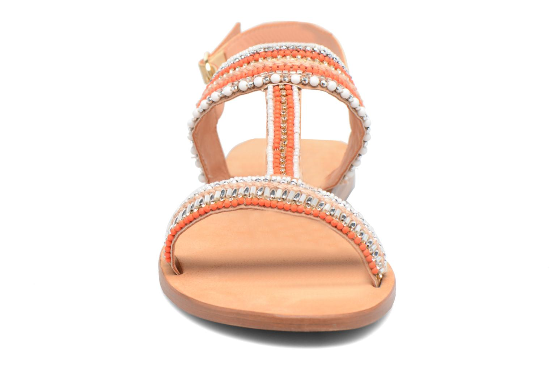 Sandales et nu-pieds COSMOPARIS Ibane Orange vue portées chaussures
