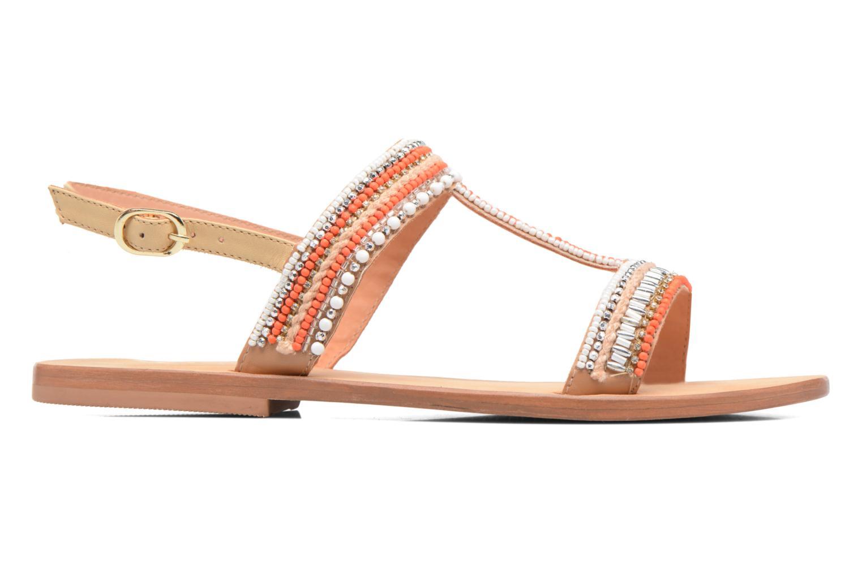 Sandales et nu-pieds COSMOPARIS Ibane Orange vue derrière