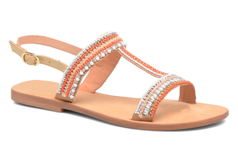 Sandales et nu-pieds COSMOPARIS Ibane Orange vue détail/paire