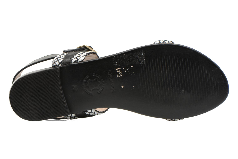 Sandales et nu-pieds COSMOPARIS Laya/tre Multicolore vue haut