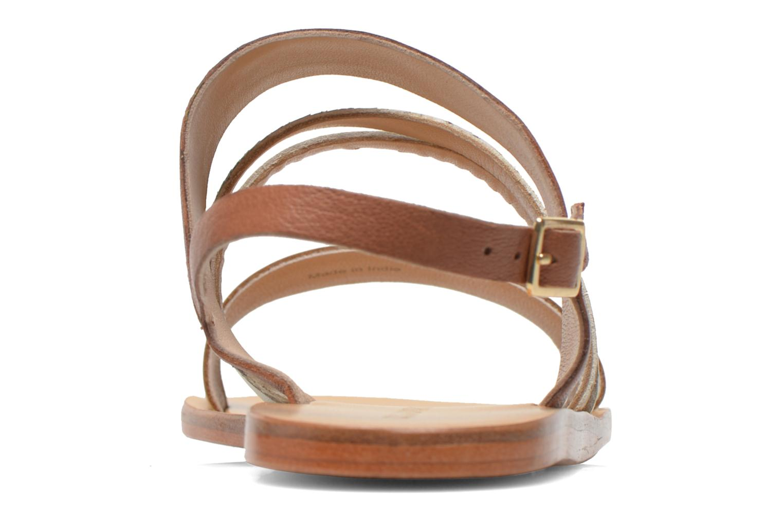 Sandales et nu-pieds COSMOPARIS Lanea/bi Multicolore vue droite