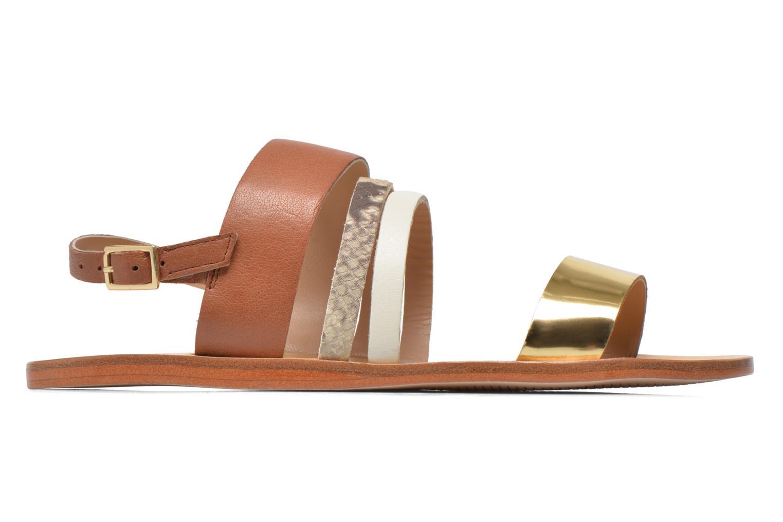 Sandales et nu-pieds COSMOPARIS Lanea/bi Multicolore vue derrière