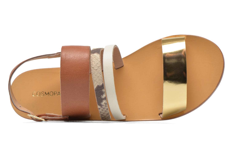 Sandales et nu-pieds COSMOPARIS Lanea/bi Multicolore vue gauche