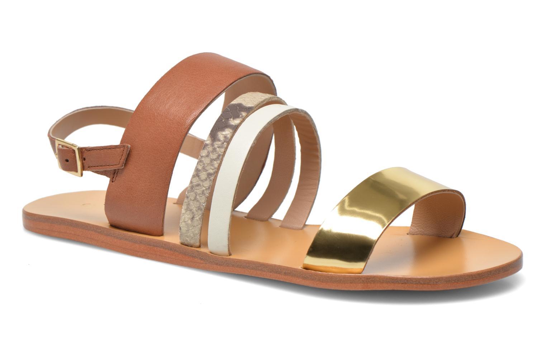 Sandales et nu-pieds COSMOPARIS Lanea/bi Multicolore vue détail/paire