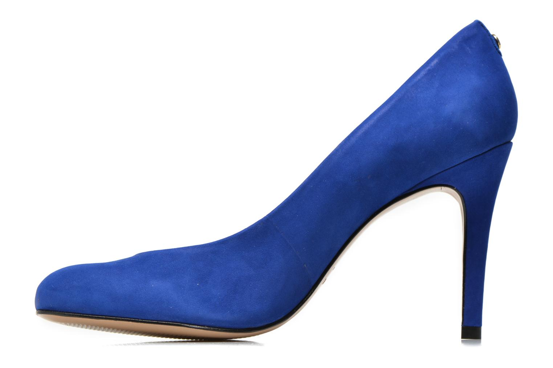 Zapatos de tacón COSMOPARIS Jelissa nub Azul vista de frente