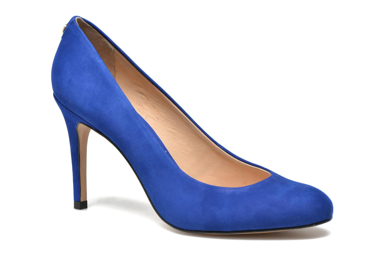 Pumps COSMOPARIS Jelissa nub Blauw detail
