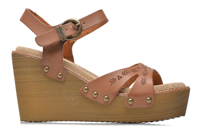 Sandales et nu-pieds Coolway Caleb Marron vue derrière