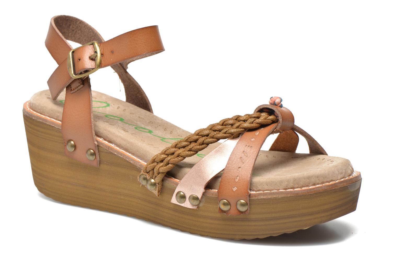 Sandales et nu-pieds Coolway Celine Marron vue détail/paire
