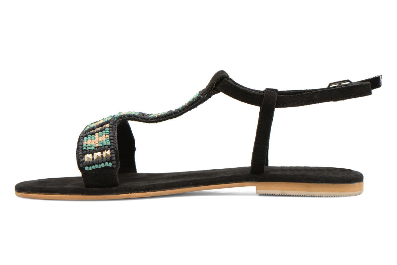 Sandalen Coolway Maddy schwarz ansicht von vorne