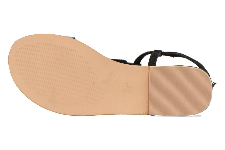 Sandales et nu-pieds Coolway Maddy Noir vue haut