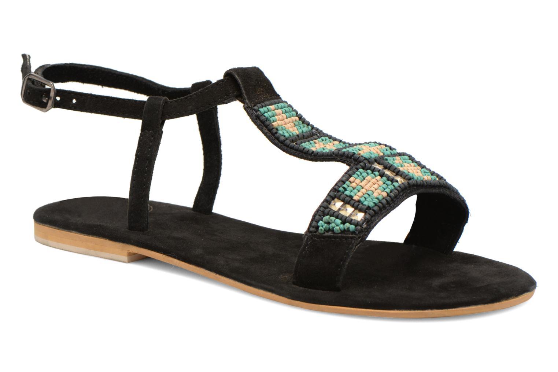 Sandales et nu-pieds Coolway Maddy Noir vue détail/paire