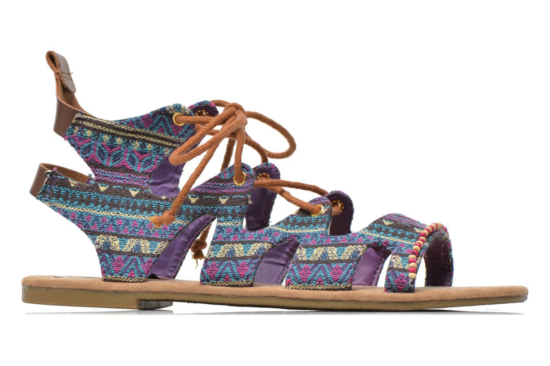 Sandales et nu-pieds Coolway Malawi Multicolore vue derrière