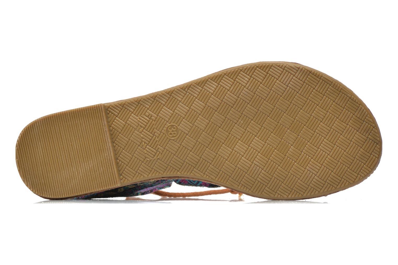 Sandales et nu-pieds Coolway Malawi Multicolore vue haut