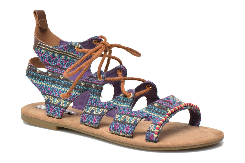 Sandales et nu-pieds Coolway Malawi Multicolore vue détail/paire
