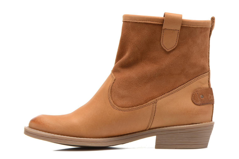 Bottines et boots Coolway natalia Marron vue face