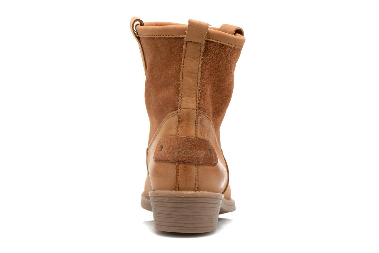 Bottines et boots Coolway natalia Marron vue droite