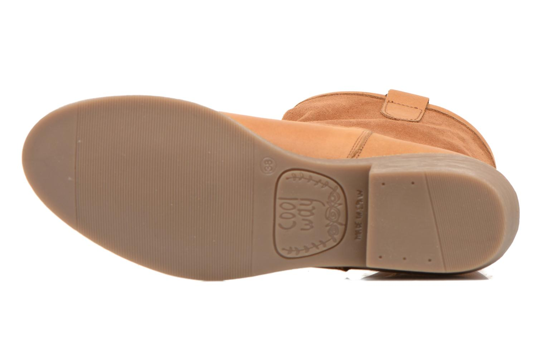 Bottines et boots Coolway natalia Marron vue haut