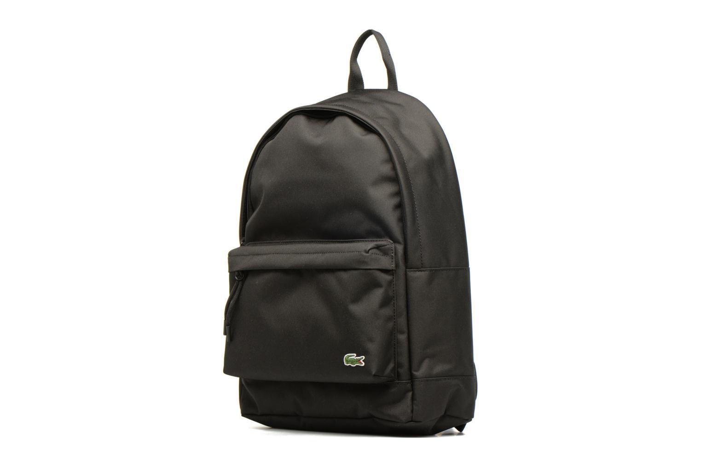 Sacs à dos Lacoste NEOCROC Backpack Noir vue portées chaussures