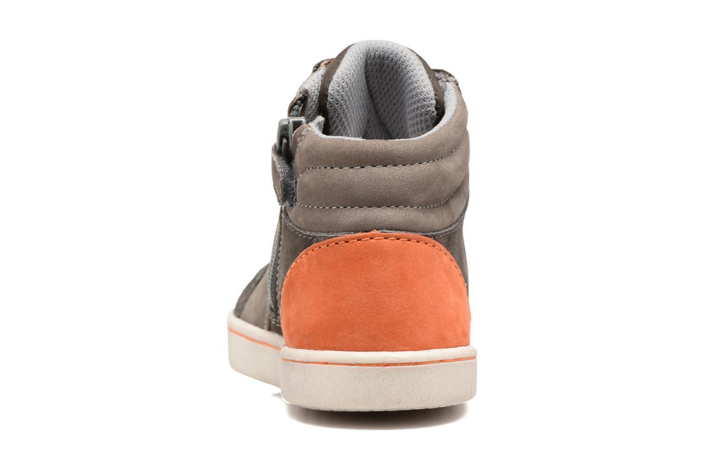 Sneakers Kickers Lynx Grå Se fra højre