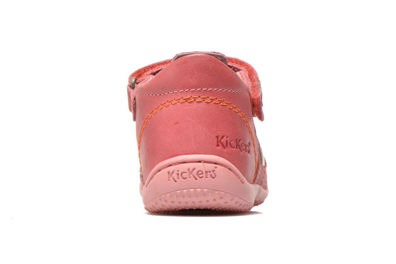 Sandalen Kickers Gift Kids rosa ansicht von rechts